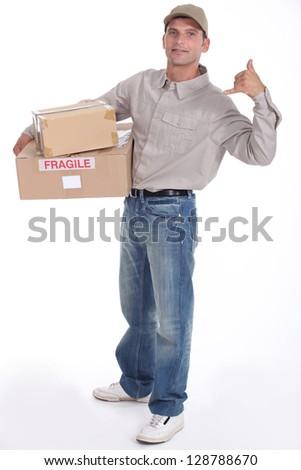 Parcel - stock photo