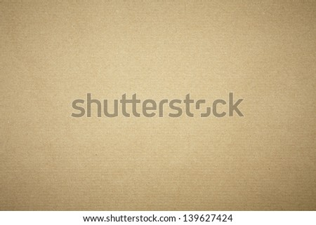 Parcel Paper From Above - Horizontal Lined - stock photo