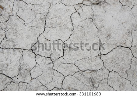 Parched Earth - Soil Conservation, Drought, Erosion - stock photo