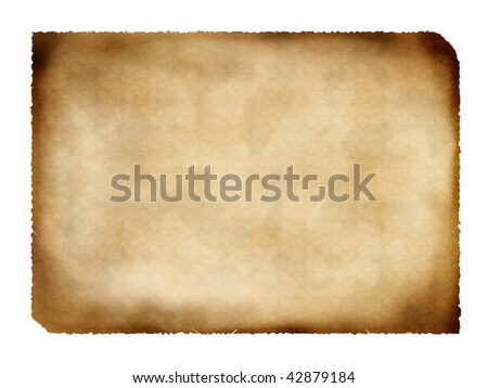 Parchment - stock photo