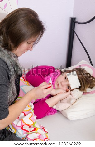 Parent problem with sick child