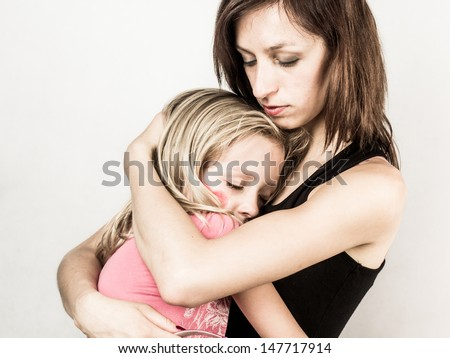 Parental love - stock photo