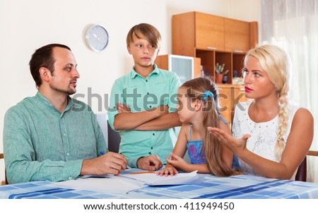 Family Conflict Stock Images, Royalty-Free Images & Vectors ...
