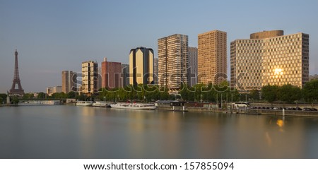 Paris, Beaugrenelle district, France