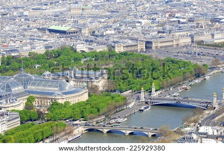 Paris, France - stock photo