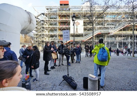 Beaubourg Pompidou Center Stock Photos, Royalty-Free Images ...