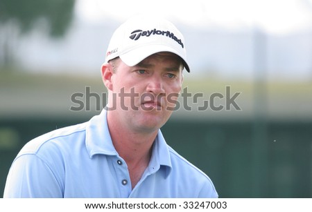 PARIS, FRANCE - JULY 5th: Peter Hanson  (SWE) at the golf French Open, Golf National, Paris, France, July, 5th, 2009 - A European Tour event -