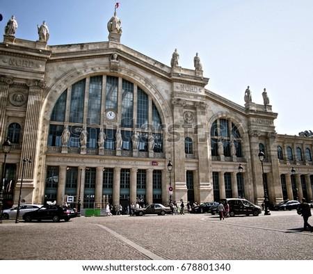 paris north station stock images royalty free images vectors shutterstock. Black Bedroom Furniture Sets. Home Design Ideas