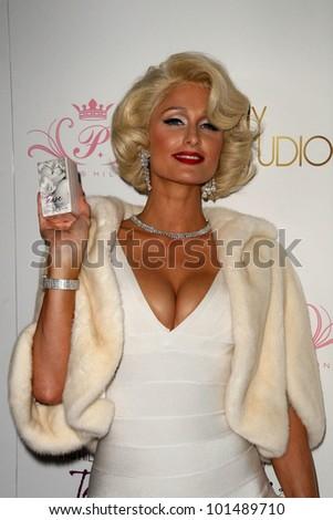 "Paris Hilton at Paris Hilton's ""Tease"" Fragrance Launch, MyStudio, Hollywood, CA. 09-10-10 - stock photo"