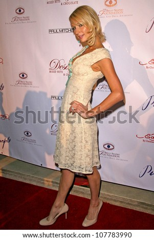 Paris Hilton  at Sober Day USA 2008 Presented by the Brent Shapiro Foundation for Alcohol and Drug Awareness. Private Residence, Beverly Hills, CA. 05-17-08 - stock photo