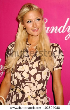 Paris Hilton at the Launch of 'Candy Ice' Jewelry. Prego, Beverly Hills, CA. 09-24-09 - stock photo