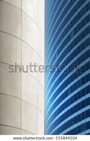 Paris LaDefense - modersn skyscraper - stock photo