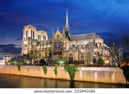 Paris - Notre Dame - stock photo