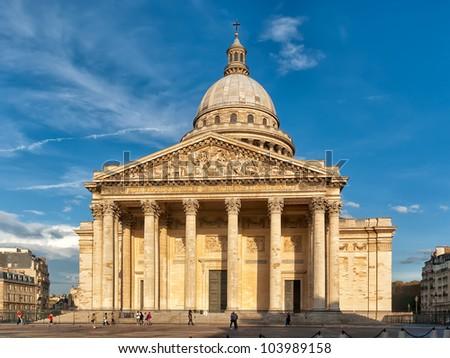 Paris Pantheon - stock photo