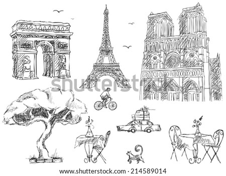 Paris sketches collection