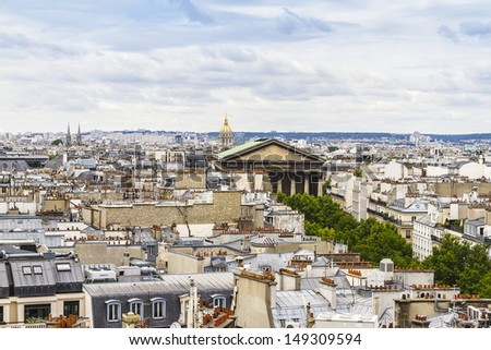 Paris Skyline. France