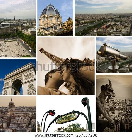 Paris Views - Photo Collection - stock photo