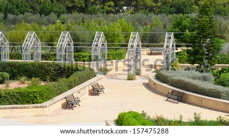 Park Gardens in Malta - stock photo
