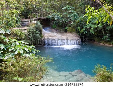 Park Soroa, Pinar del Rio, Cuba - stock photo