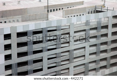 Parking garage - stock photo