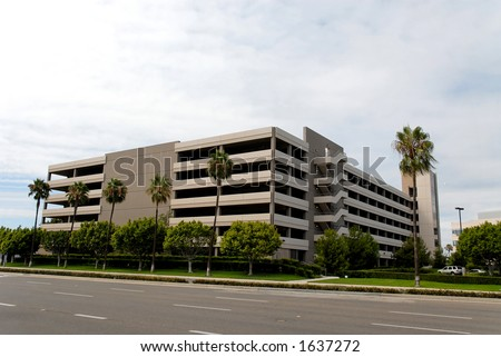 Parking garage, Santa Ana, California
