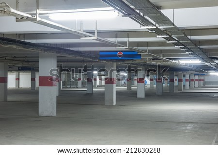Parking Lot - stock photo