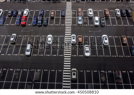 Parking near office areas.