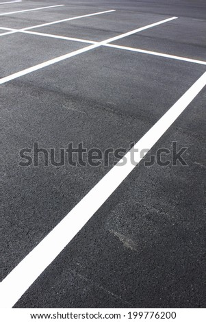 Parking On The Asphalt