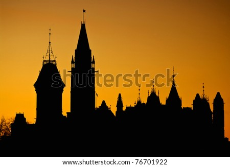 Parliament Silhouette