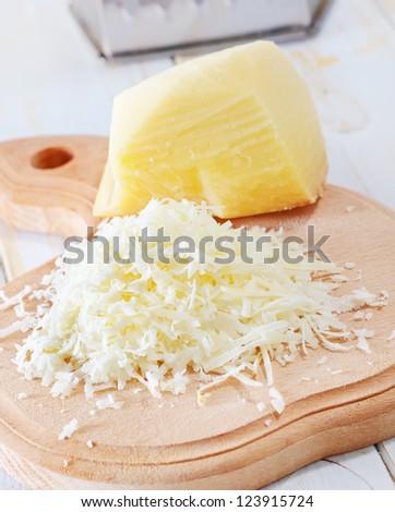 parmesan - stock photo