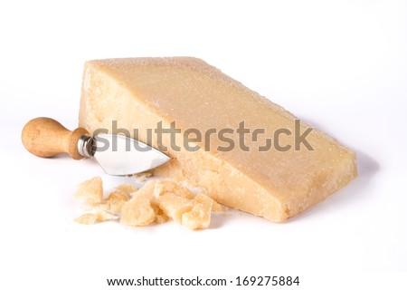 Parmesan cheese - stock photo