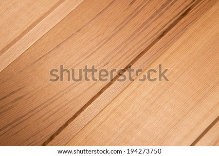 parquet from mahogany. background.  Cedar without treatment - stock photo