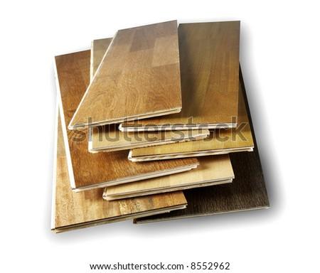 Parquet textures - stock photo