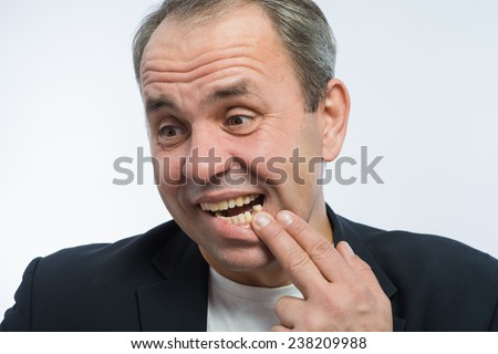 Toothless Man Stock Images, Royalty-Free Images & Vectors ...