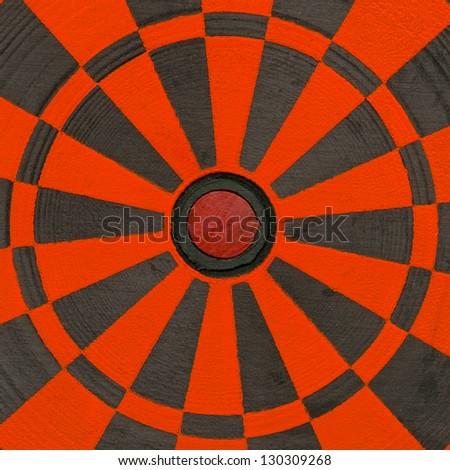 Part of dartboard close up - stock photo