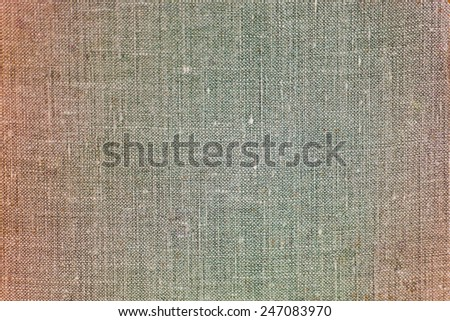 Part of old book cover, vintage texture - stock photo