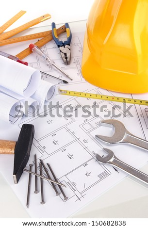 Part of repair project - stock photo