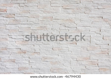 part of stone tiles wall