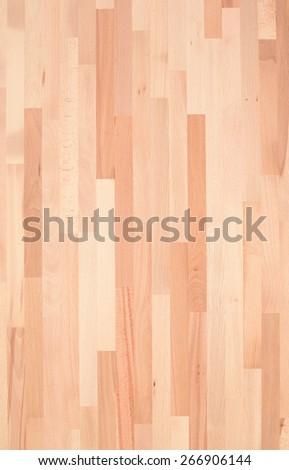 Part of the design of glued hardwood tree - stock photo