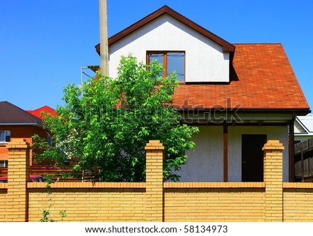 Part of the house - stock photo