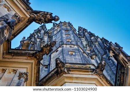 stock-photo-part-of-the-saint-vitus-cath