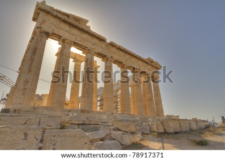 Parthenon,Acropolis,Athens,Greece
