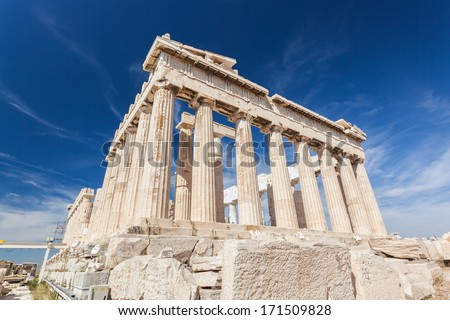 Parthenon, Athens Greece - stock photo
