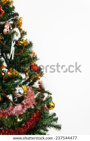 Partial Christmas Tree