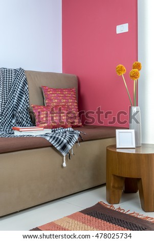 Colorful Interior Design Modern Living Room Component - Living Room ...