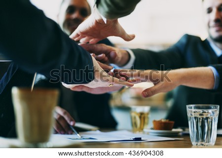 Partner Business Meeting Concept - stock photo