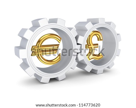 Partnership concept.Isolated on white background.3d rendered.