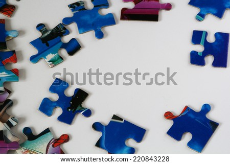 parts of puzzle