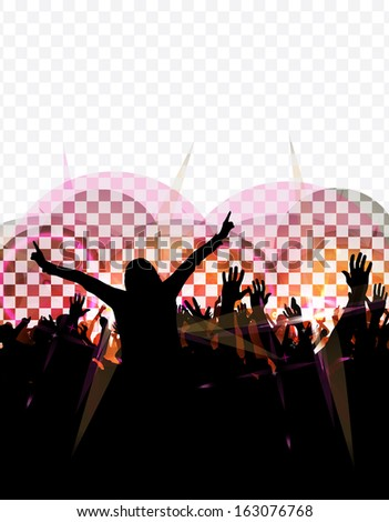 Party Background - stock photo