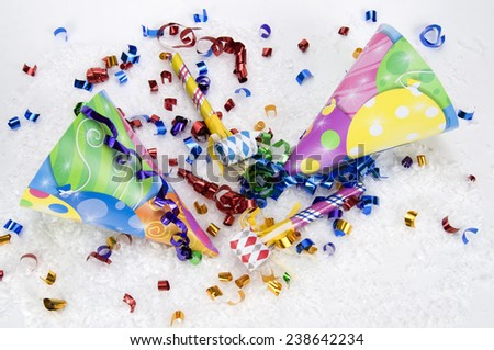 Party, Birthday, New Year's - stock photo
